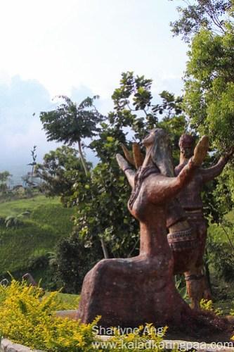 Kublai Millan's Sculpture in Agong House