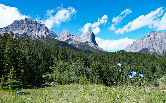 Ha Ling and Miner's Peak