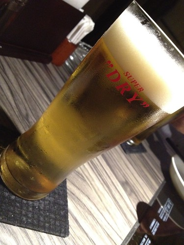 生ビールで乾杯!@ENZAN 新宿店
