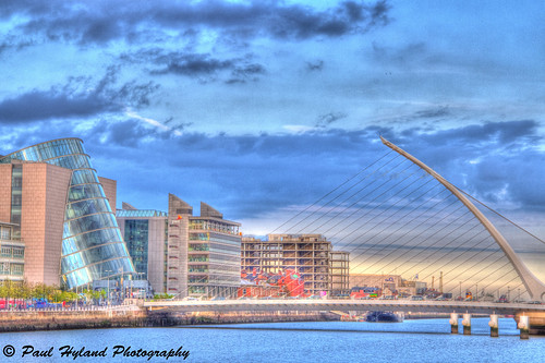 Over the Liffey by Paulie Hyland