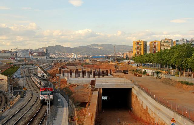 Vista desde puente Calatrava