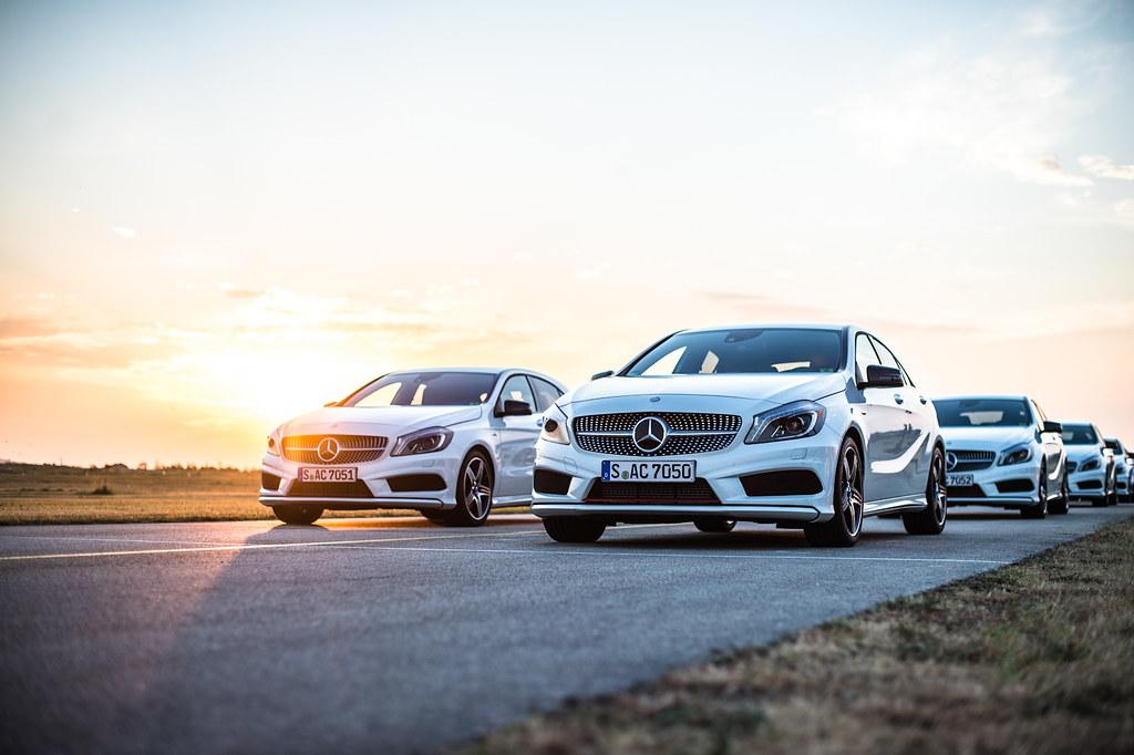 New Mercedes Benz A-Class Event