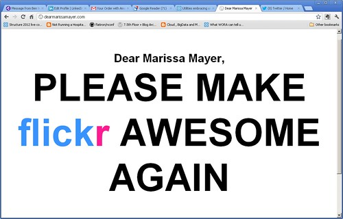 trending in the browser near you: http://dearmarissamayer.com/ by my rainbow is jewels