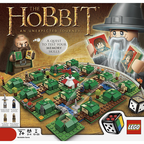 The Hobbit Board Game Revealed