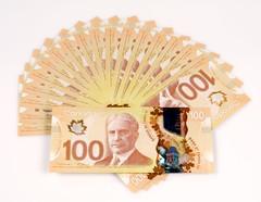 $100 notes/Coupures de 100 $