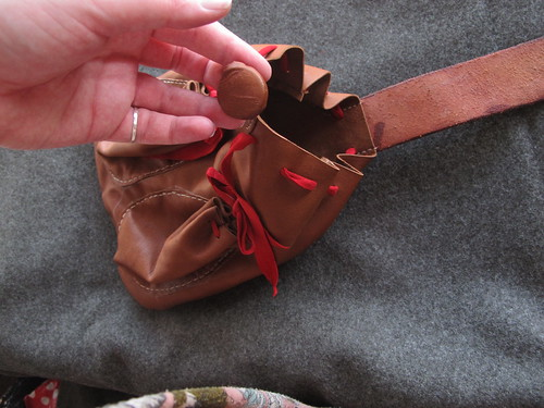 16th century German - bag - button