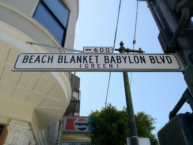 Beach Blanket Babylon Blvd.