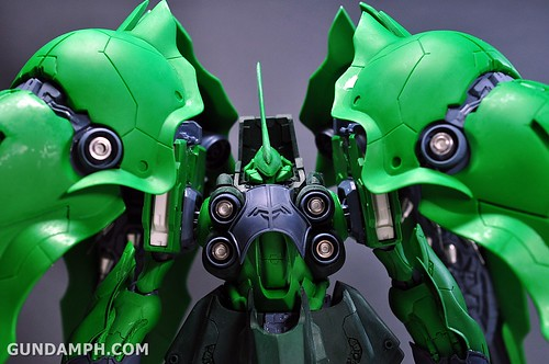 1-100 Kshatriya Neograde Version Colored Cast Resin Kit Straight Build Review (96)