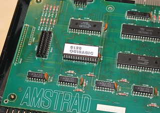 Amstrad 464 with replacement ROM