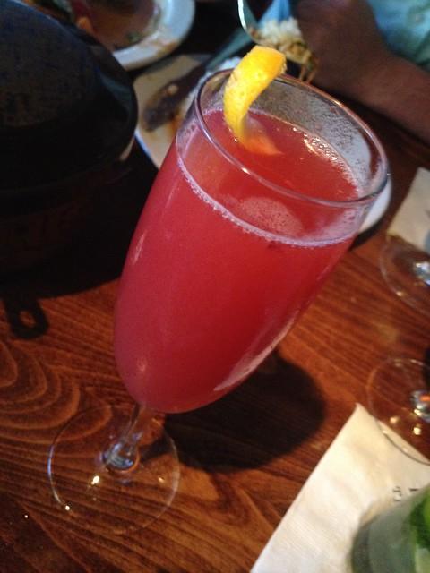 Ka lai cocktail - Basil Thai Restaurant