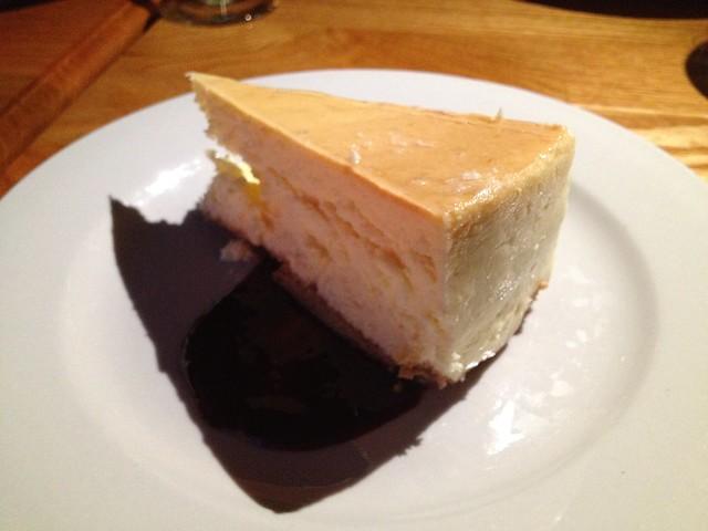 Blackberry cheesecake - 17 North Roadside Kitchen