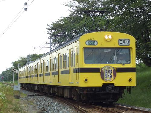 1007F(俳句列車) @広瀬川原〜大麻生