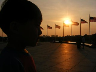 Angelo and the DC Sunset