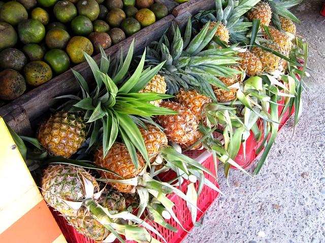 Honey pineapples