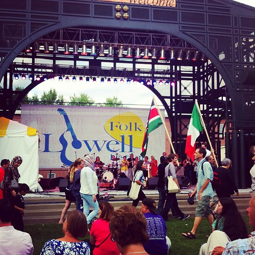 Lowell Folk Fest Parade of Nations. London's got nuthin' on Lowell ;-)