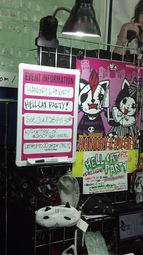 Hangry and Angry Booth at Otakon 2012