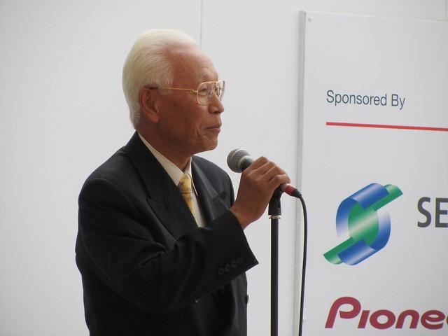 Keisaku Sano (Chairman, Japan Association in the UK)