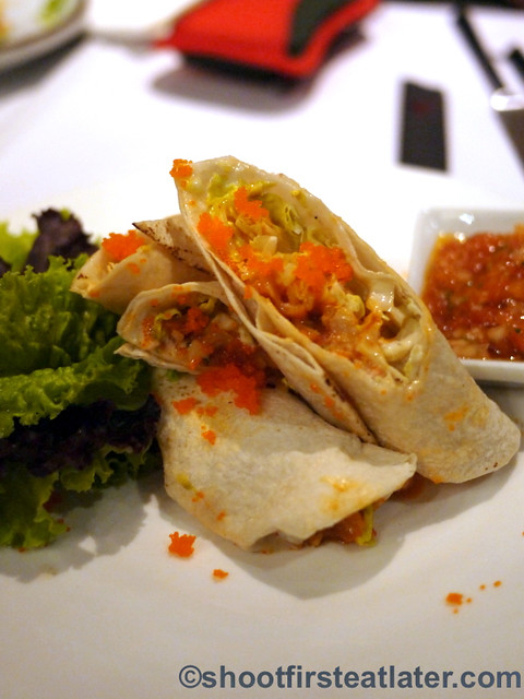 spicy seafood taco P330