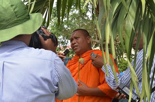 Venerable Loun Savath: Free the 15 Protest
