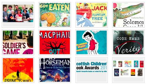 Shortlisted books for the Scottish Children's Book Awards