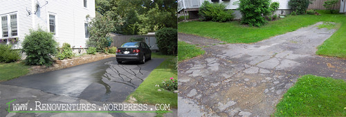 driveway before-after