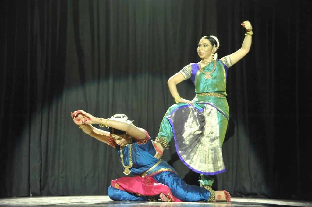 'Raghava Yadava' - In Bhagavata - Kalia Mardhanam - Lord Krishna's duel with the serpent Kalia