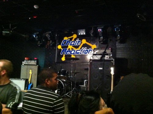 The Chain Reaction in Anaheim