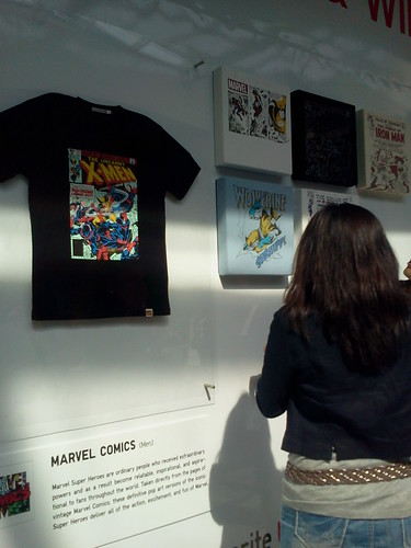UT Shirts Marvel Comics