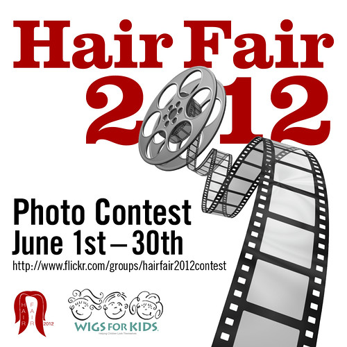 Hair Fair Photo Contest Signage