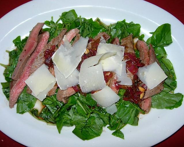 Steak & Watercress Salad