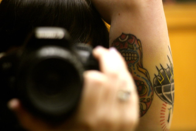Thursday: new tattoo bruising