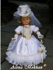 American Girl Doll Wedding Dress