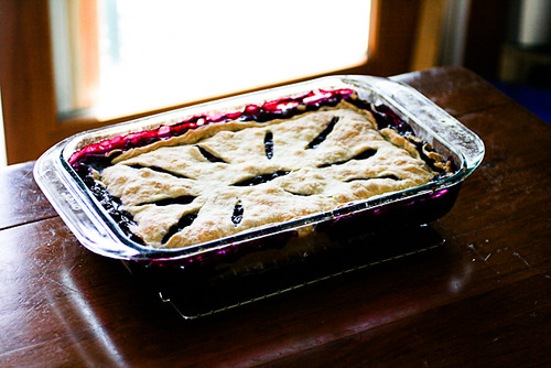 Vacation Blueberry Pie (10 of 12)