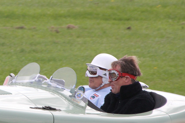 Sir Stirling Moss at Donington Historic Festival, Donington Park, May 2012