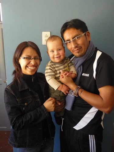 Miqui, Noelia, y Caleb