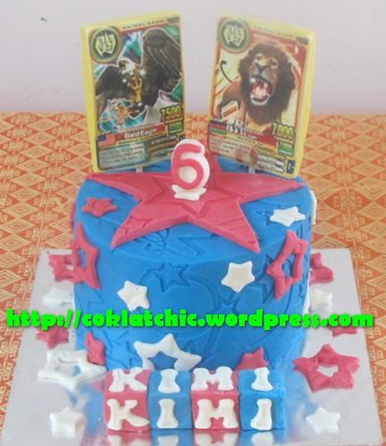 Cake Animal Kaiser KIMI Jual Kue Ulang Tahun