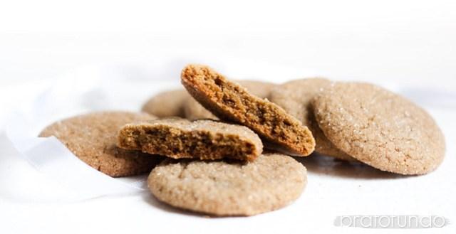Cookies de Gengibre / Gingersnaps