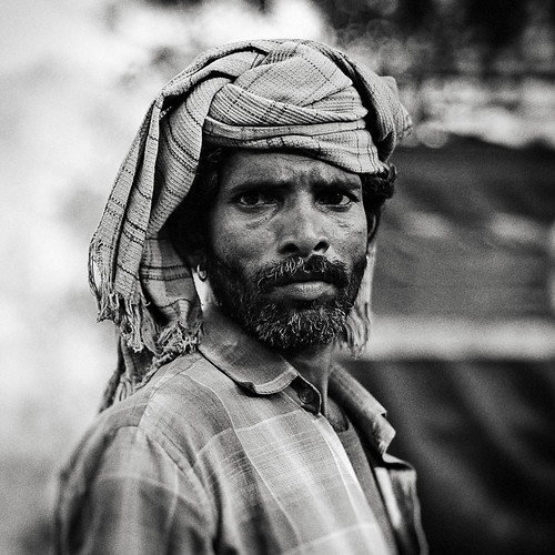 A Rajasthni local worker