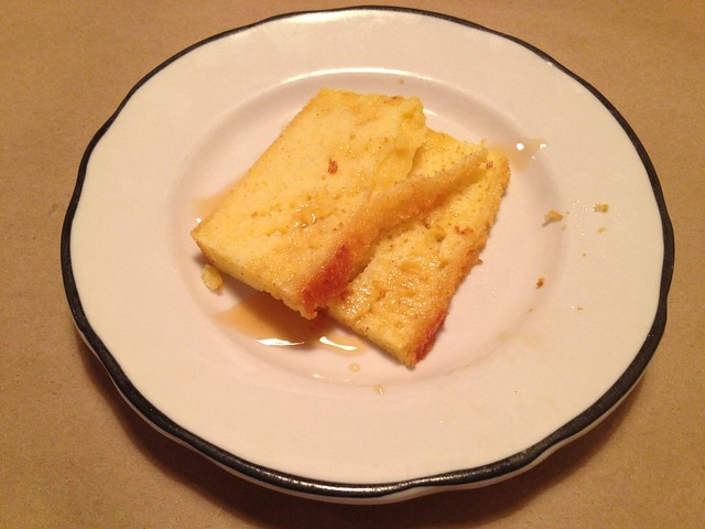 Cornbread and honey - The Glass Onion