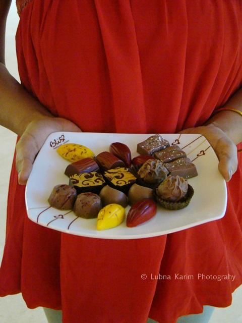 Assorted Platter of Luxury Chocolates @ Bliss