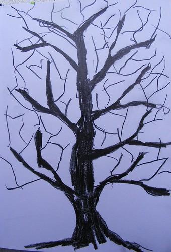 Sketchbook tree