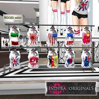 Indyra Originals i(heart)Unity colors