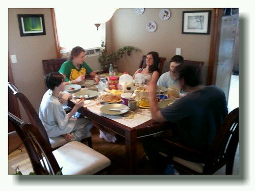 Sunday Breakfast at The Ensey's by chauntelensey