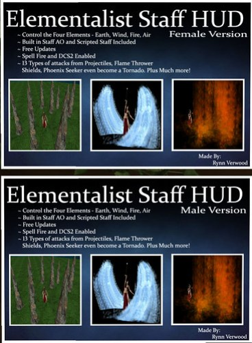 Elementalist Staff at Solarium