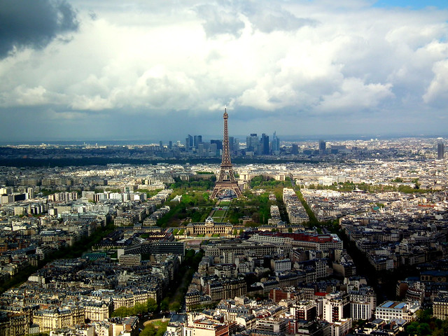 La Tour Eiffel from Tour Montparnasse