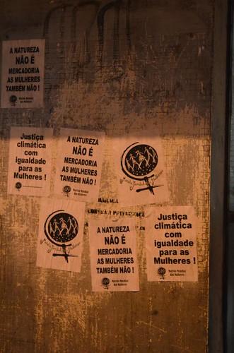 Lambes Feministas na Cúpula dos Povos, Rio de Janeiro/2012. Foto: Cíntia Barenho