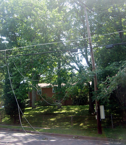 20120630 1118 - storm damage while yardsaleing - everyone (including us) drove through this - (side view) - IMG_4556