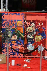 SDCC LEGO Mural - 5