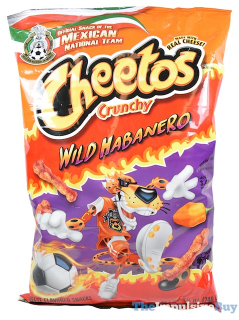 Cheetos Crunchy Wild Habanero