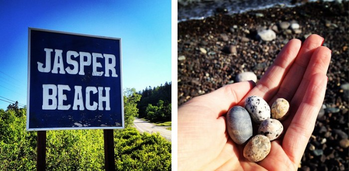 Jasper Beach Howard Cove Machiasport Maine 1